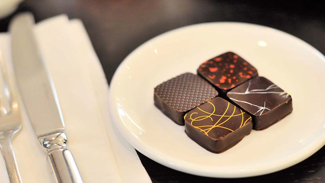 best chocolate bonbons in the Marais